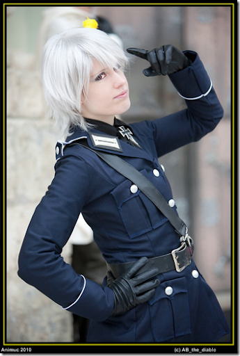 hetalia: axis powers cosplay - prussia 2 by nanjo koji