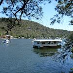House boat on Berowra Creek (354263)