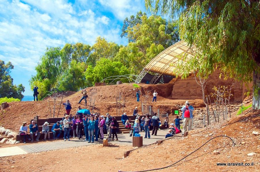 Тель Дан. Ворота Бронзового века. Экскурсия на археологических раскопках.