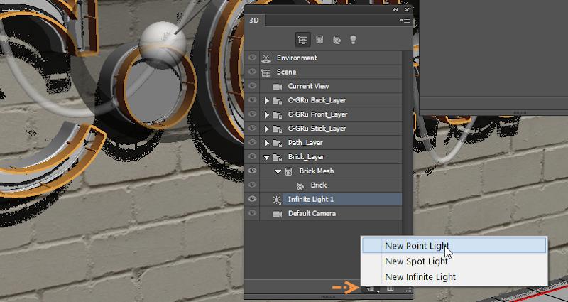Photoshop - เทคนิคการสร้างตัวอักษร 3D Glowing แบบเนียนๆ ด้วย Photoshop 3dglow49