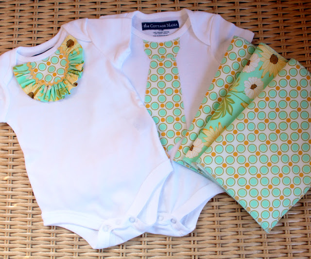 Baby Gift Set Tutorial : Tons of onesie tutorials cute you have to say