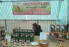 preserves market stall