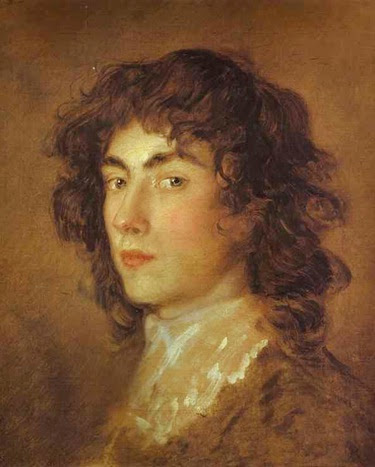 Thomas Gainsborough - Portrait of Gainsborough Dupont