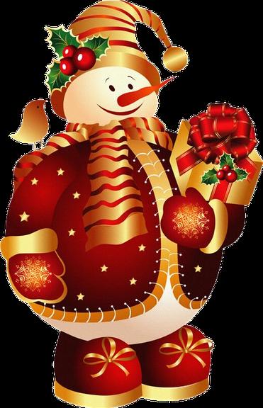 boneco de neve-vermelho-tube