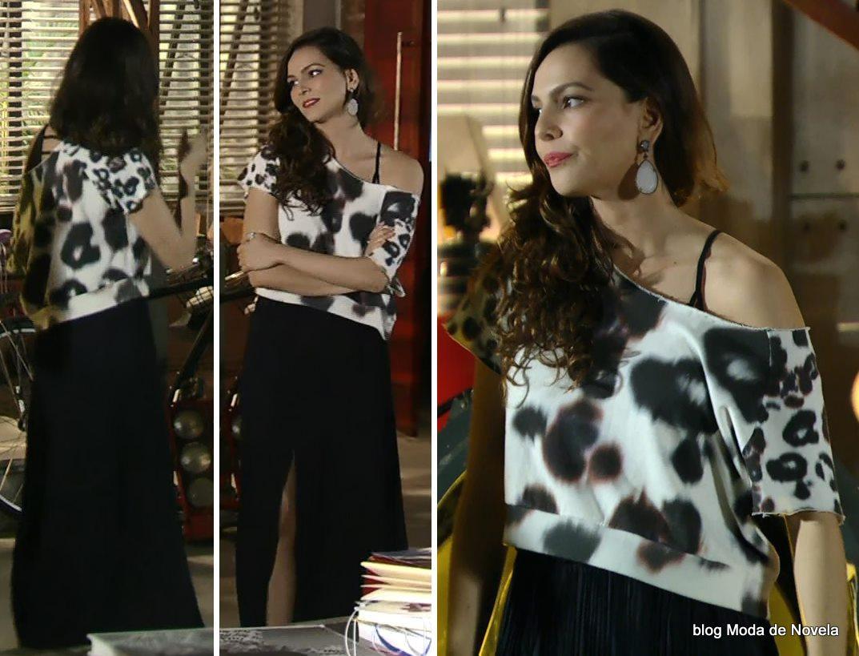 moda da novela Em Família - look da Marina dia 29 de maio