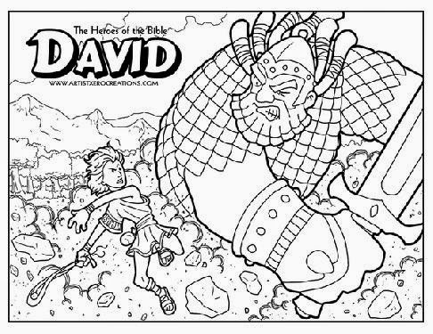 Stephen Bible Story Coloring Page Pages