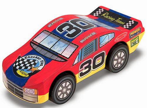 Một cách trang trí xe đua số 30