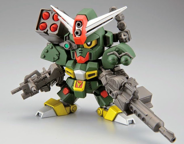 Lắp ghép Command Gundam Legend BB-375 SD Gundam không tỷ lệ, cao khoảng 8 cm