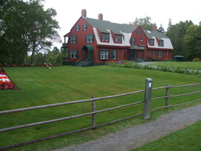 "Roosevelt ""cottage."", Annapolis Royal Historic Gardens"