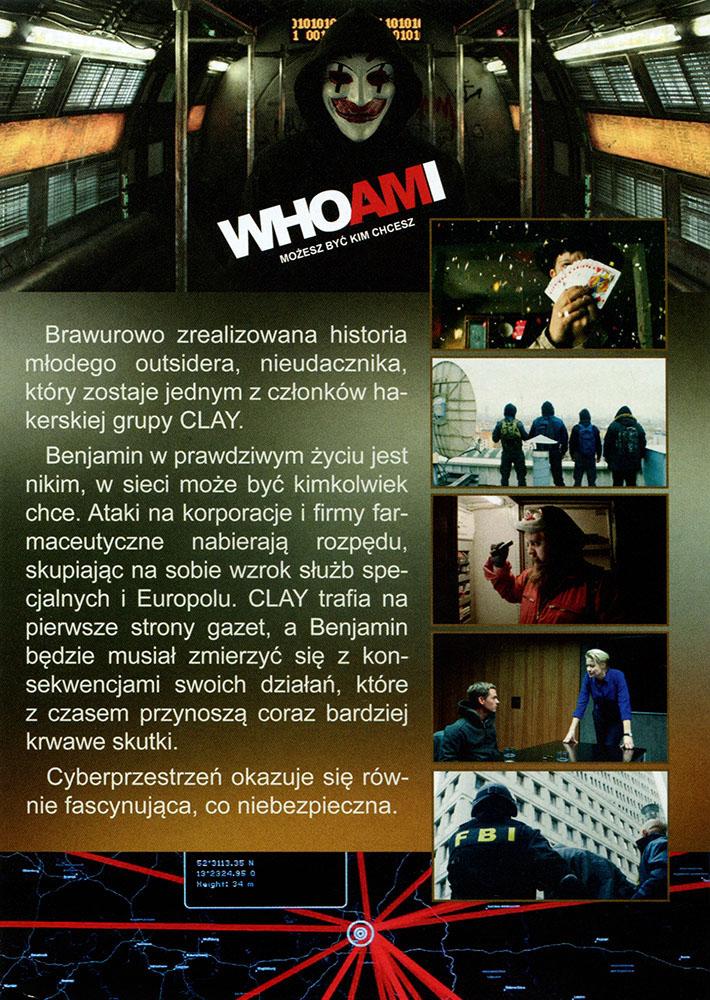 Ulotka filmu 'Who Am I. Możesz Być Kim Chcesz (tył)'