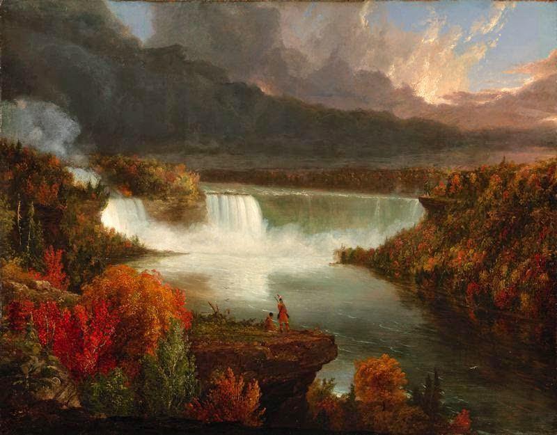 Thomas Cole - Distant View of Niagara Falls