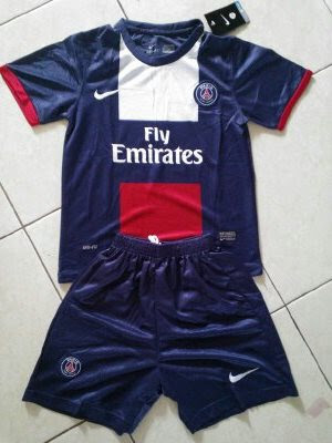 Jual Jersey Bola Anak PSG Home 2014