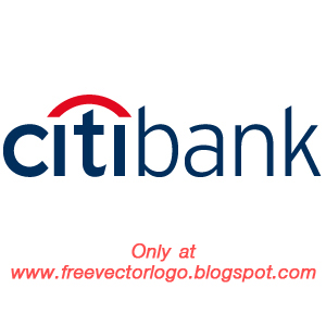 Citibank logo vector