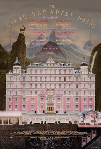 Ξενοδοχείο Grand Budapest The Grand Budapest Hotel Poster