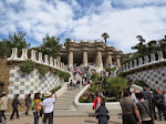 Park Guell is crazy and free