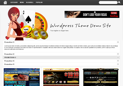 Online Casino Template 959