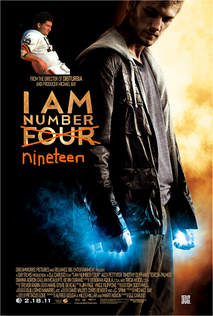 Bernie Kosar, Superpowered Movie Star | Cleveland Sports ... I Am Number Four Movie Poster