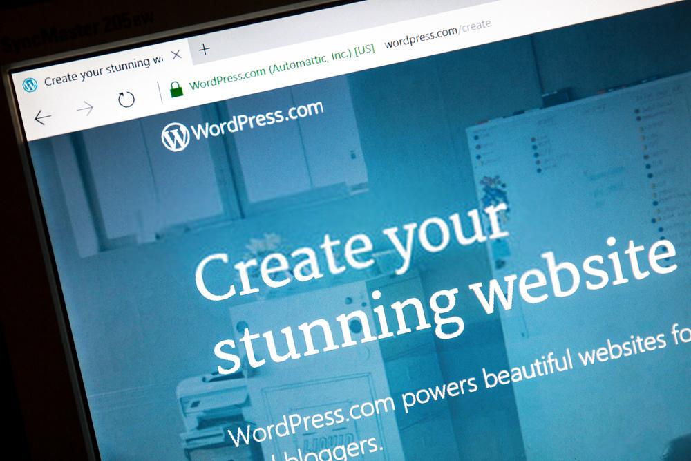 WordPress, platform untuk membuat website
