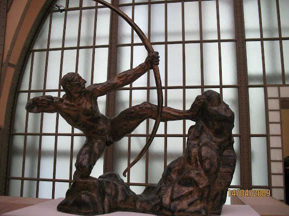 Héràcles archer(1909) Antoine Bourdelle.- Museo de Orsay, París