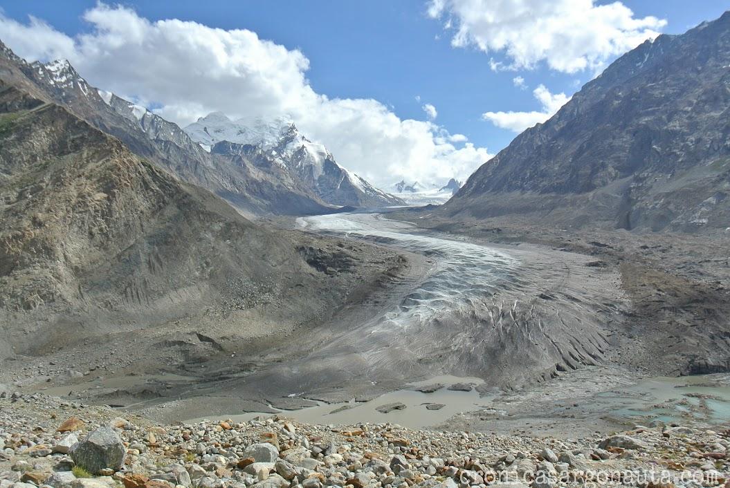 glaciar de Ladakh