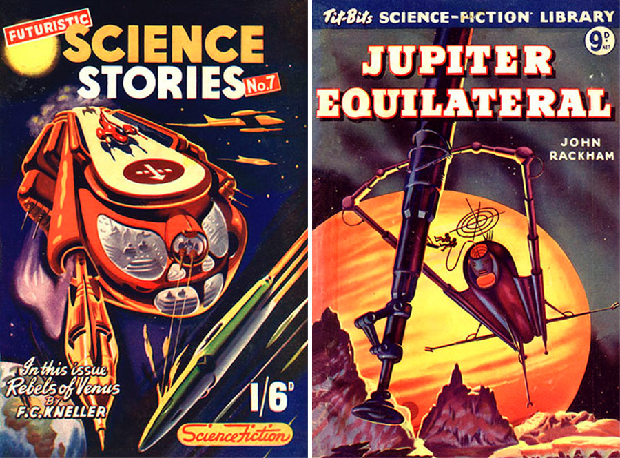 Exile From Jupiter And Other Amazing 50s Sci Fi Moss