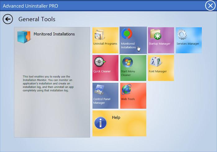 Advanced Uninstaller PRO Monitoring Installation