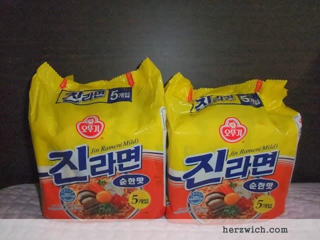 Jin Ramen (Mild) Noodles