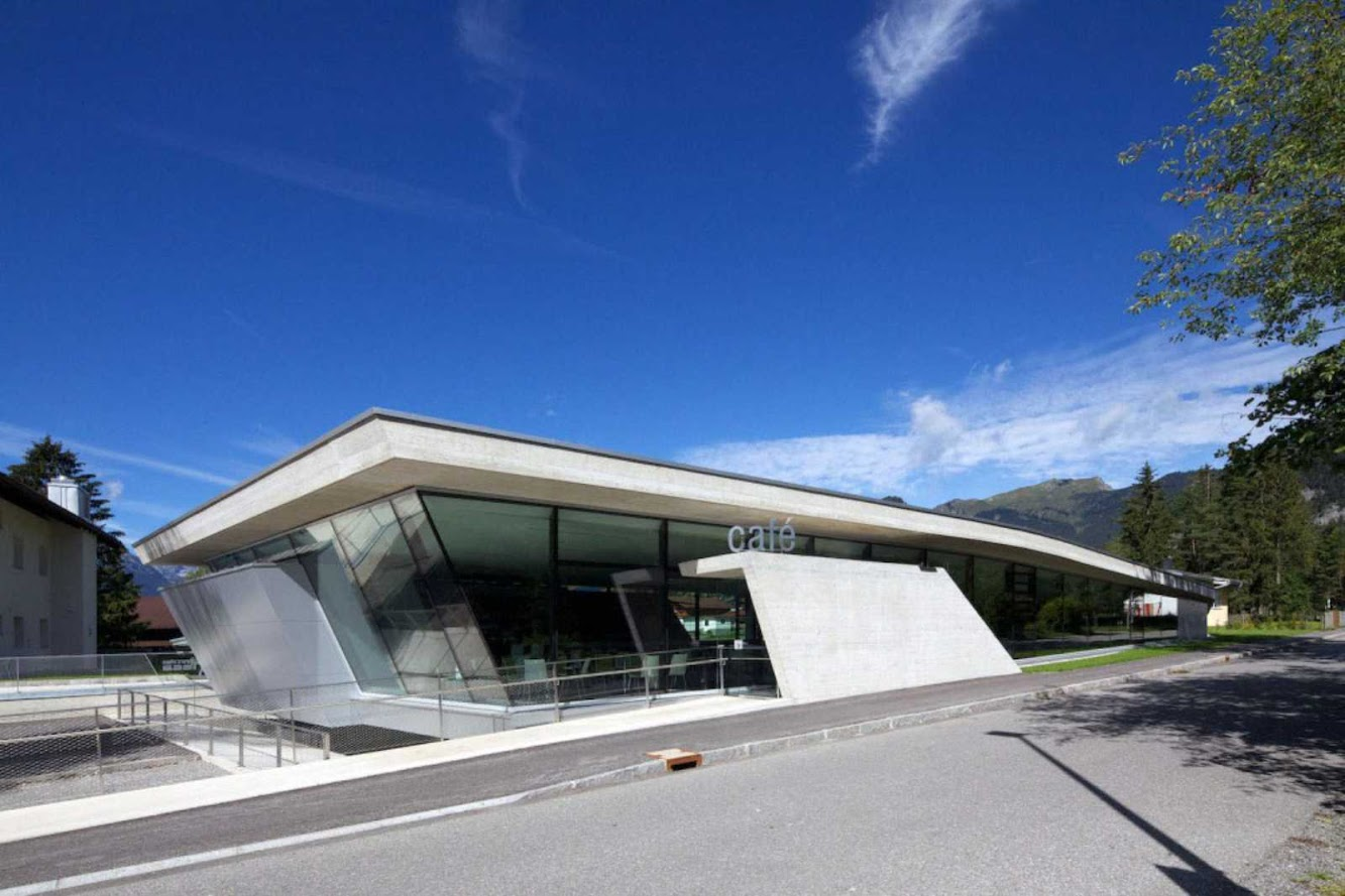 6671 Weißenbach am Lech, Austria: Multipurpose Hall by Laac Architekten