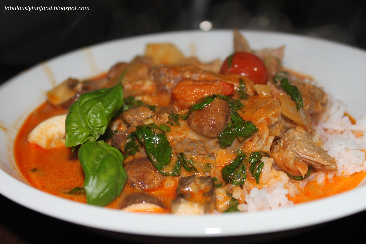 ... Fun Food: Double Take: Red Thai Duck Curry via The Pioneer Woman