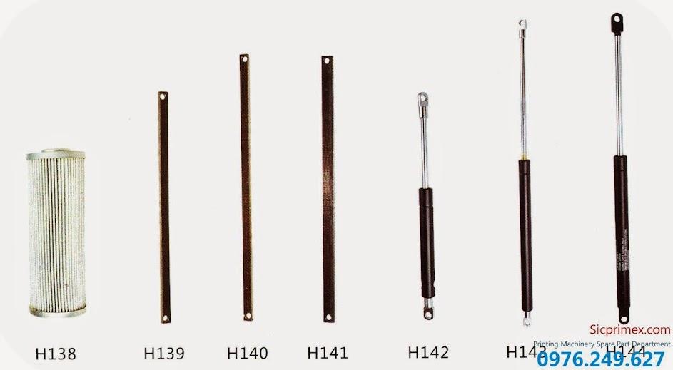 Phụ tùng máy in chính hãng Heidelberg chất lượng cao giá rẻ H138-144