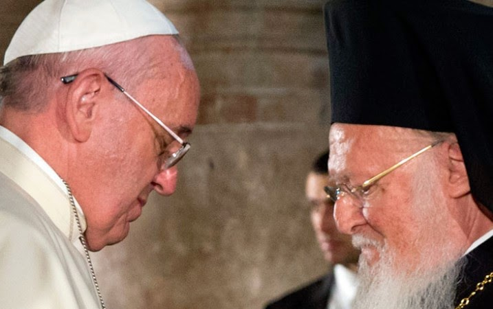 Pope Francis and Patriarch Bartolomaios to have historic meeting