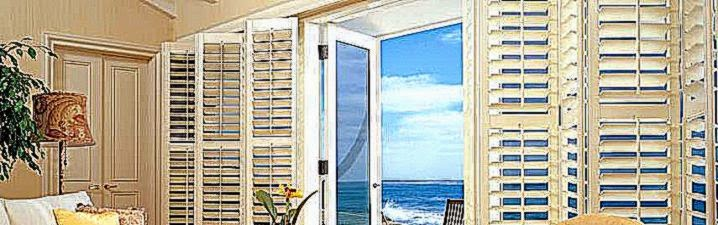 Volusia Vertical Plantation Shutters   Daytona Beach