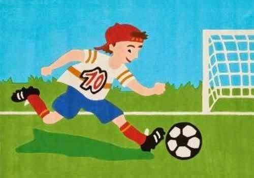 Juegos de futbol entre niños