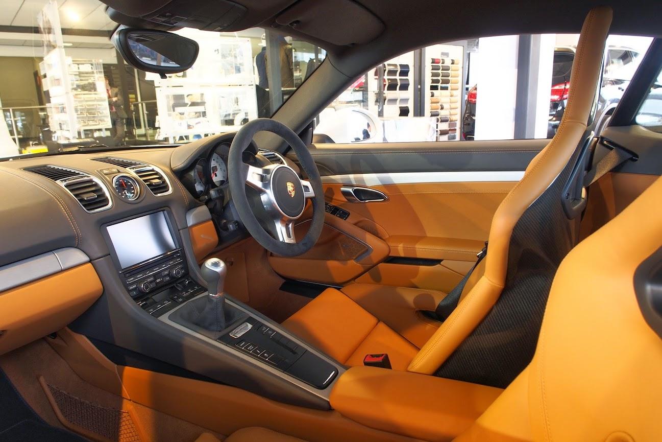 White exterior agate orange interior w bucket seats Car interior exterior color combinations