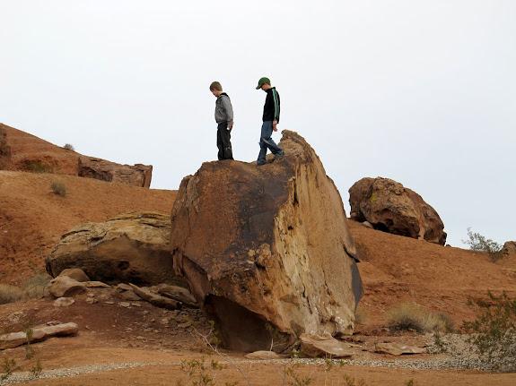Little Black Mountain boulder