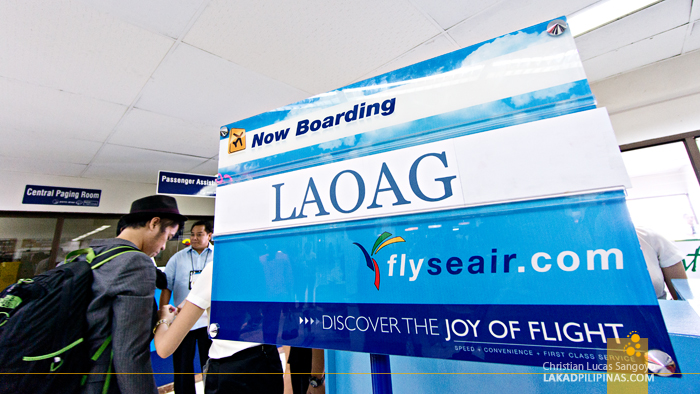 En Route from Manila to Laoag via SEAIR