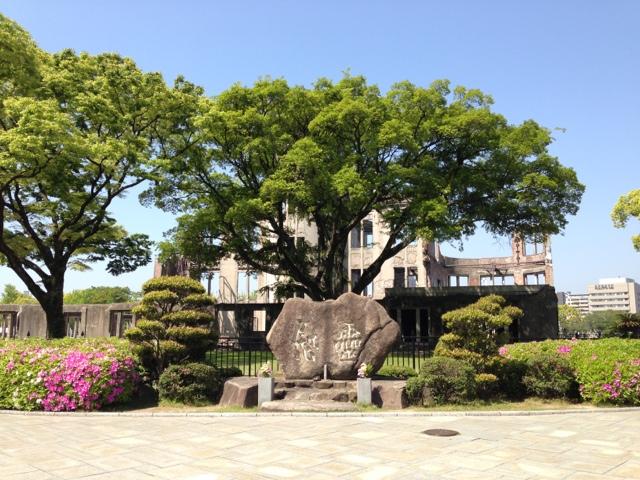 原爆ドーム 慰霊碑
