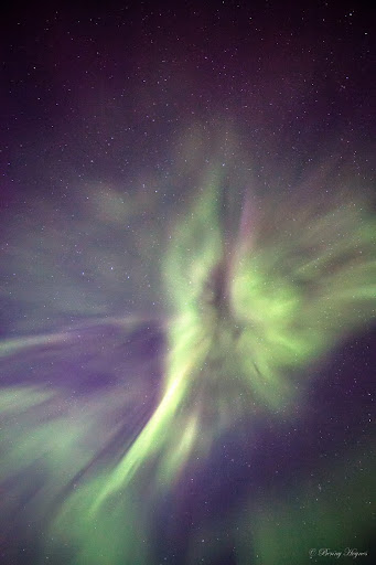 Auroras at Andøya Island, Northern Norway