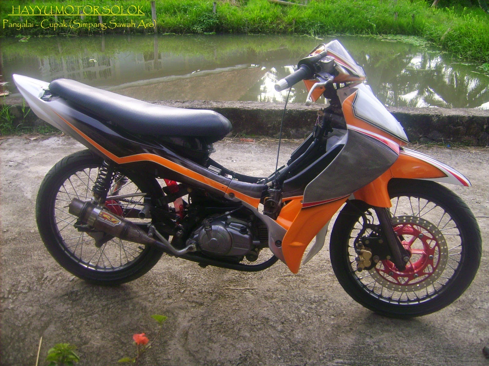 Jupiter Z Modifikasi Trail