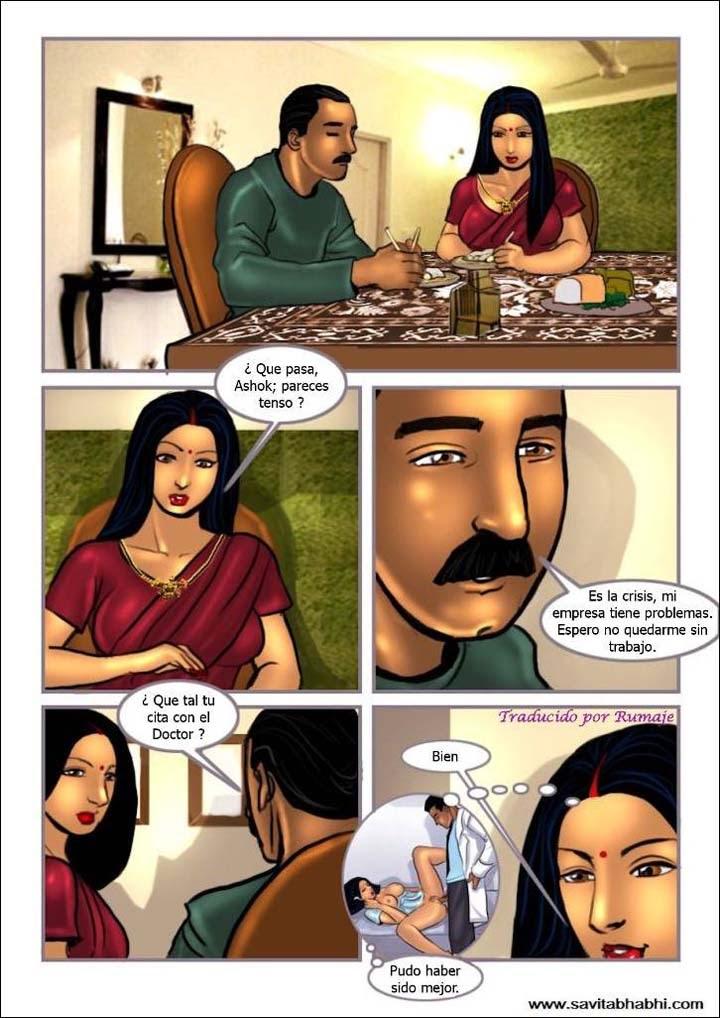 LA ENTREVISTA, cómic porno hindú. Página 01.