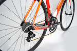 Orange Wilier Cento Uno Campagnolo Record Complete Bike