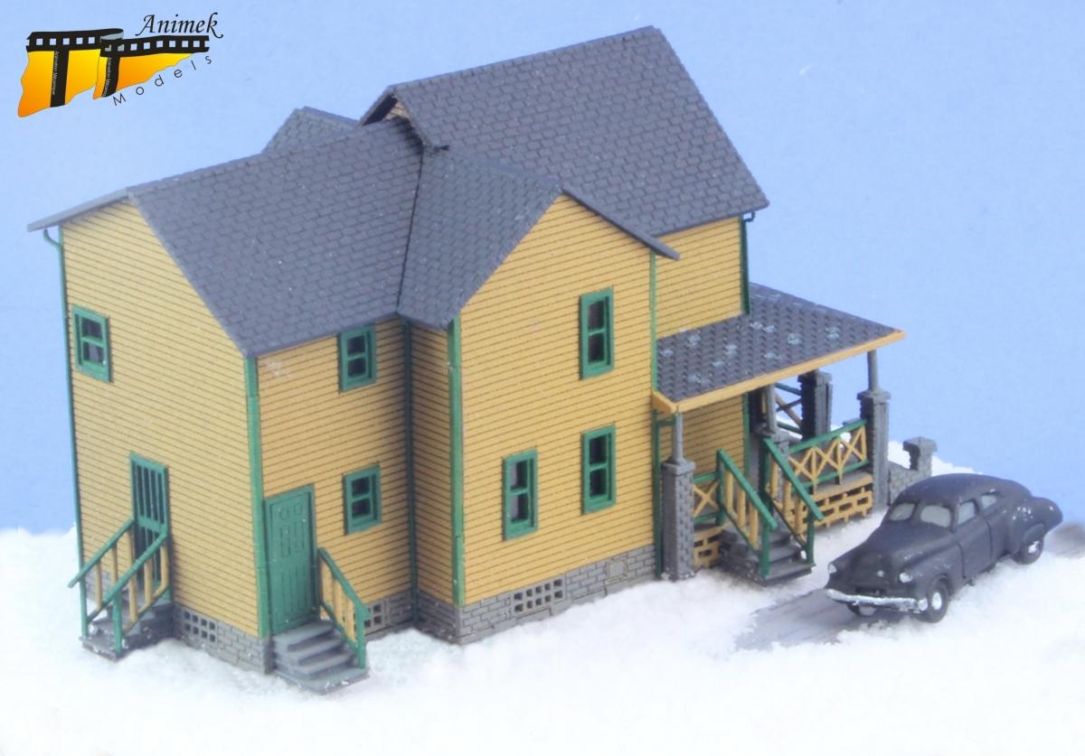 Christmas story house model