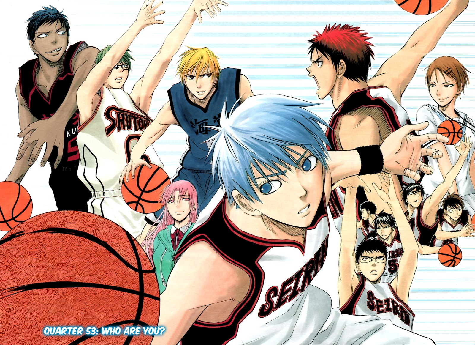 Kuroko no Basket Manga Chapter 53 - Image 8-009