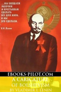 Cover of A Caricature of Bolshevism