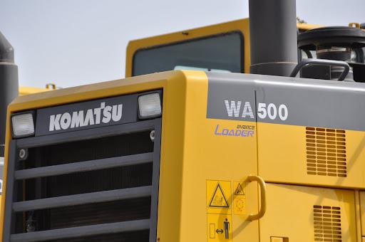 Komatsu-Wheel-Loader Komatsu Radlader mit neuen Funktionen