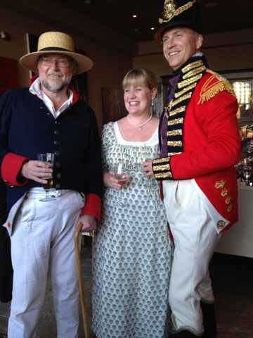 """War of 1812 Chatham-Kent Dave, Beth, Mark"""