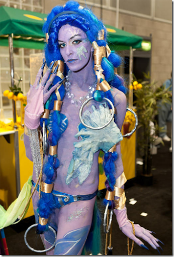 final fantasy x cosplay - shiva from anime expo 2011