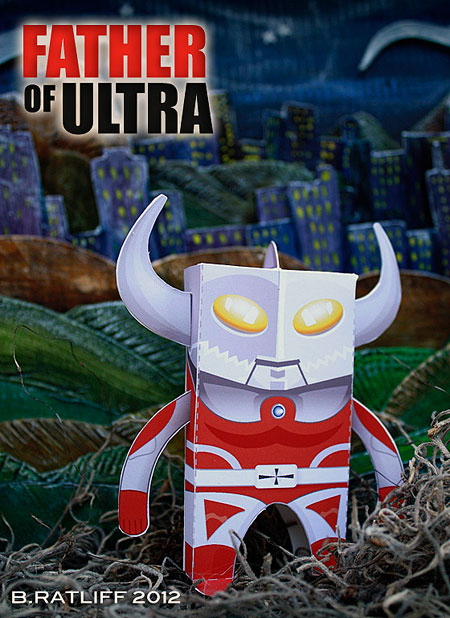 Father of Ultra Paper Toy