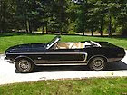 black, excellent condition, unique, 1968 mustang convertible with gt accessories