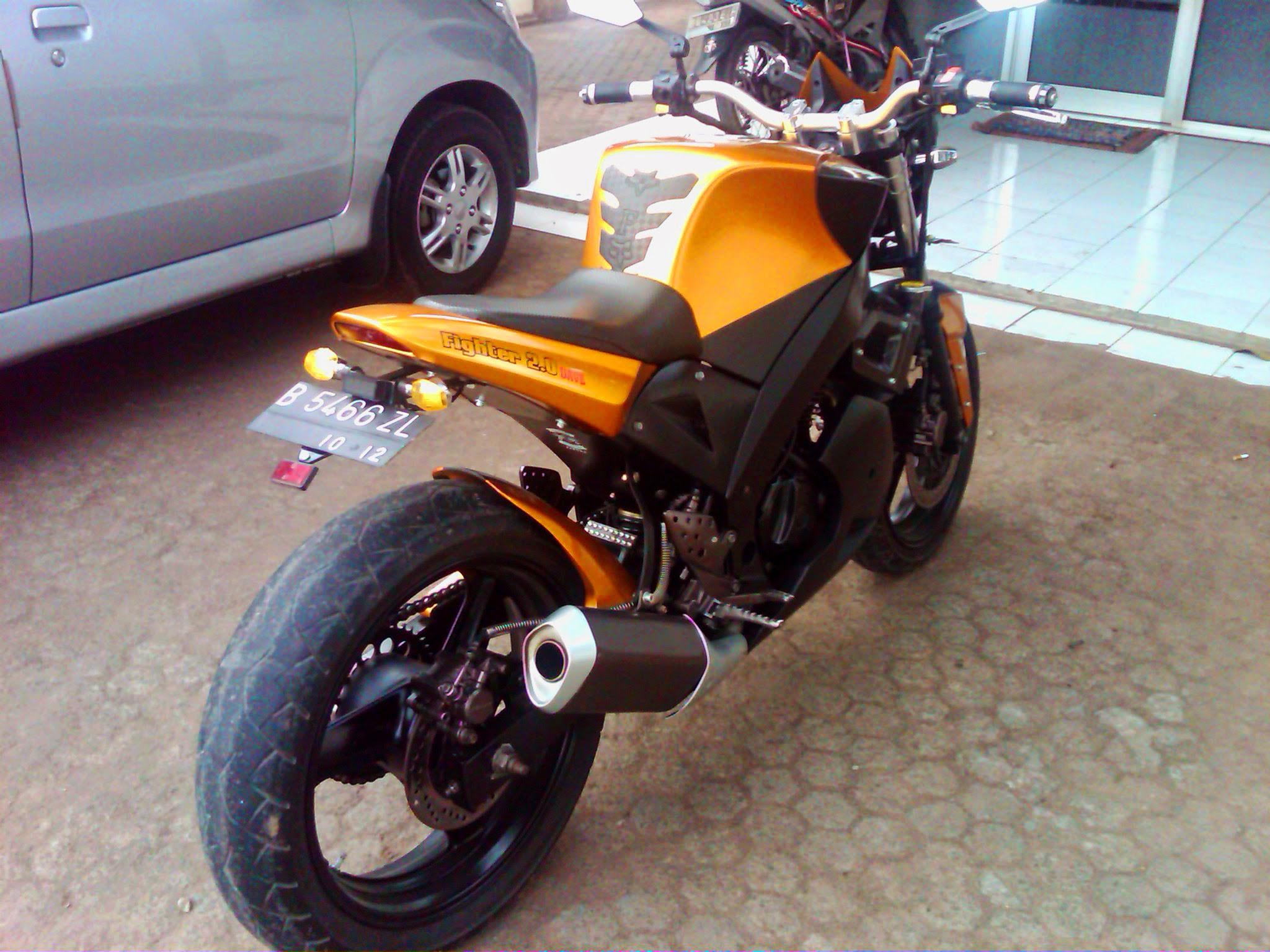 90 Modifikasi Motor Tiger Ala Moge Terbaru Oneng Motomania